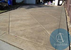Agundez Concrete - San Diego CA - Colored 5x5 Foot Squares