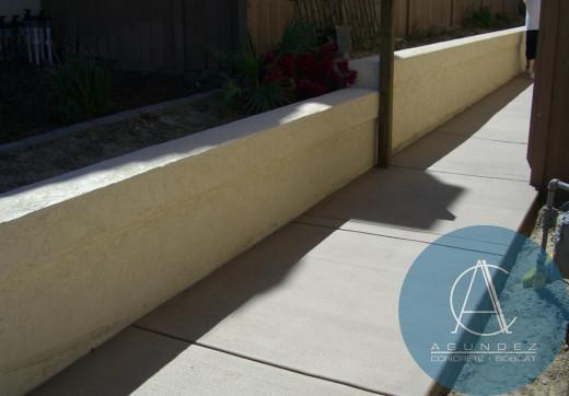 Concrete Retaining Walls San Diego Agundez Concrete In San Diego