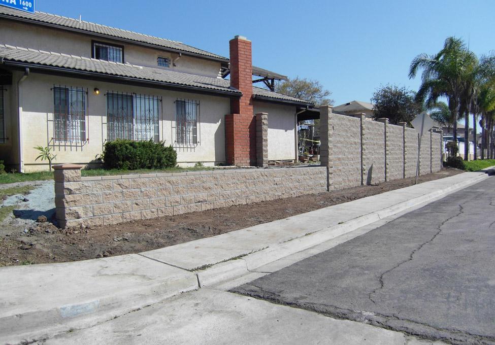 Block Wall Construction Repair In San Diego Agundez