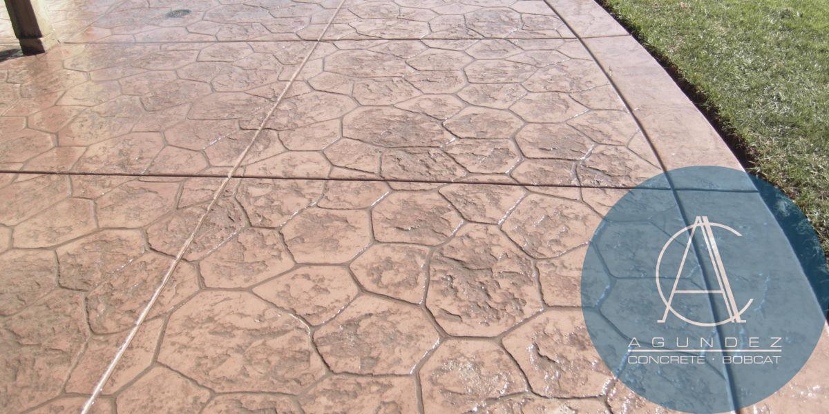 Stamped Concrete in San Diego | Agundez Concrete